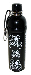 Pet Water Bottle Stainless Steel 24 oz Black