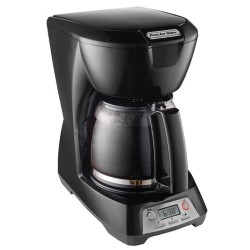 Programmable 12 Cup Coffeemaker - Black