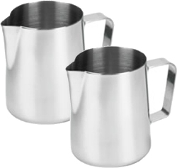 Saeco Stainless Steel Frothing Pitcher 12 oz