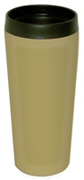 Stainless Steel Insulated Travel Mug 14 oz Tan