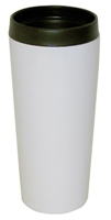 Stainless Steel Insulated Travel Mug 14 oz White