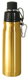 Stainless Steel Water Bottle 16 oz Bronze