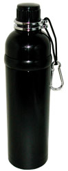 Stainless Steel Water Bottle 24 oz Black