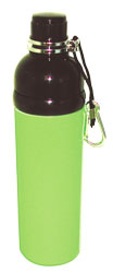 Stainless Steel Water Bottle 24 oz Lime Green