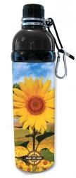 Stainless Steel Water Bottle 24 oz Sunflower Black