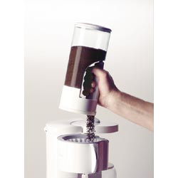 Zevro Indispensable Coffee Dispenser - White/Chrome