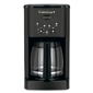 Cuisinart Brew Central 12 Cup Coffeemaker Black Matte Metal