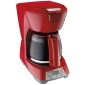 Programmable 12 Cup Coffeemaker - Red