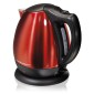 Stainless Steel 10 Cup Electric Kettle - Red
